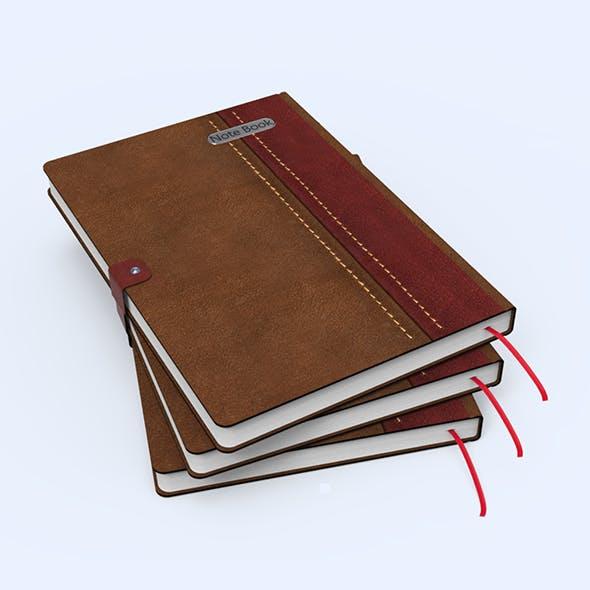Notebook - 3DOcean Item for Sale
