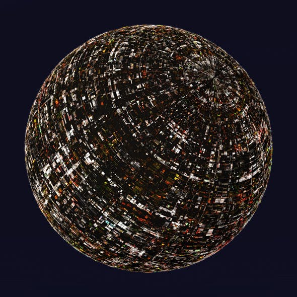 Sci-Fi Artificial Moon Shader_003 - 3DOcean Item for Sale