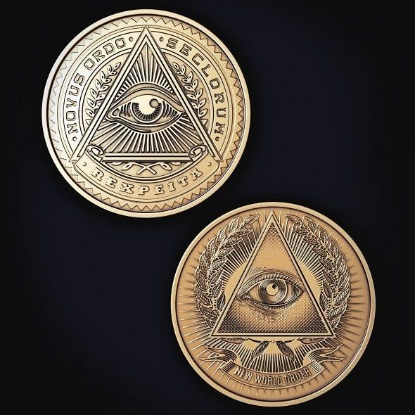 Illuminati Coin - 3DOcean Item for Sale
