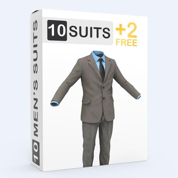 Suit Man - 3DOcean Item for Sale