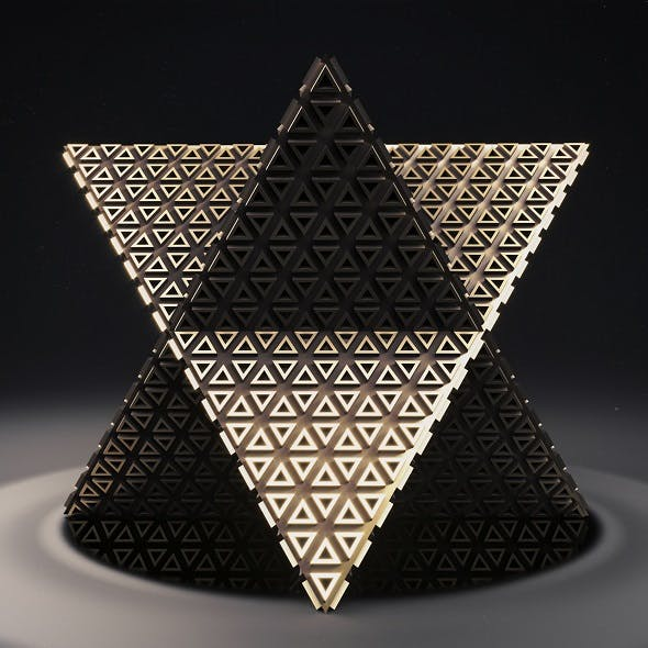 Merkaba 1 - 3DOcean Item for Sale