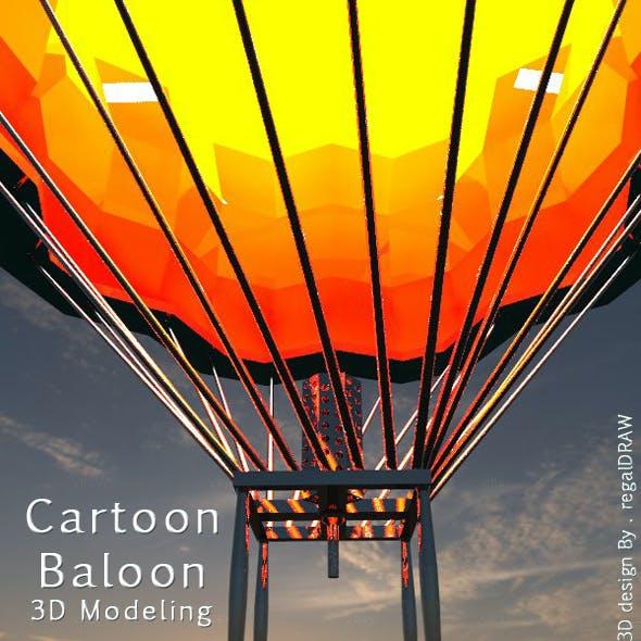 Cartoon Balloon_3D Modeling