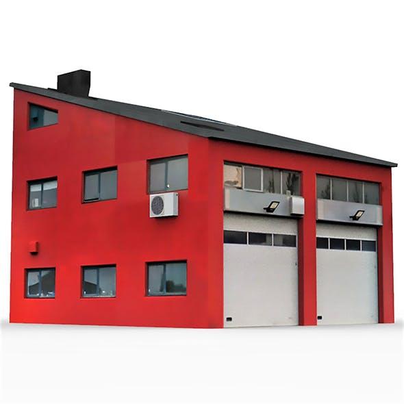 Industrial Building 4 - 3DOcean Item for Sale