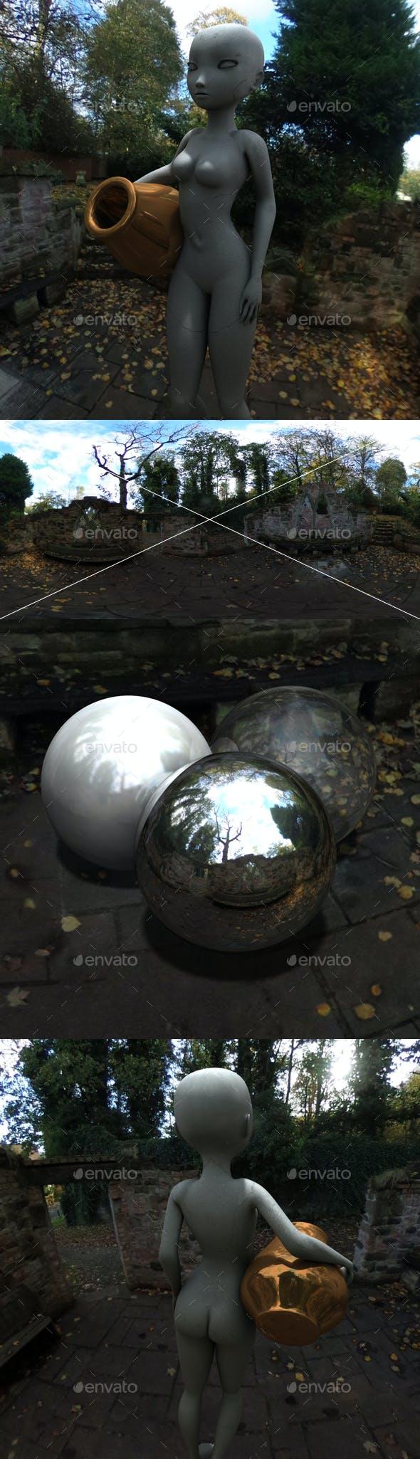 Autumn Ruins HDRI - 3DOcean Item for Sale