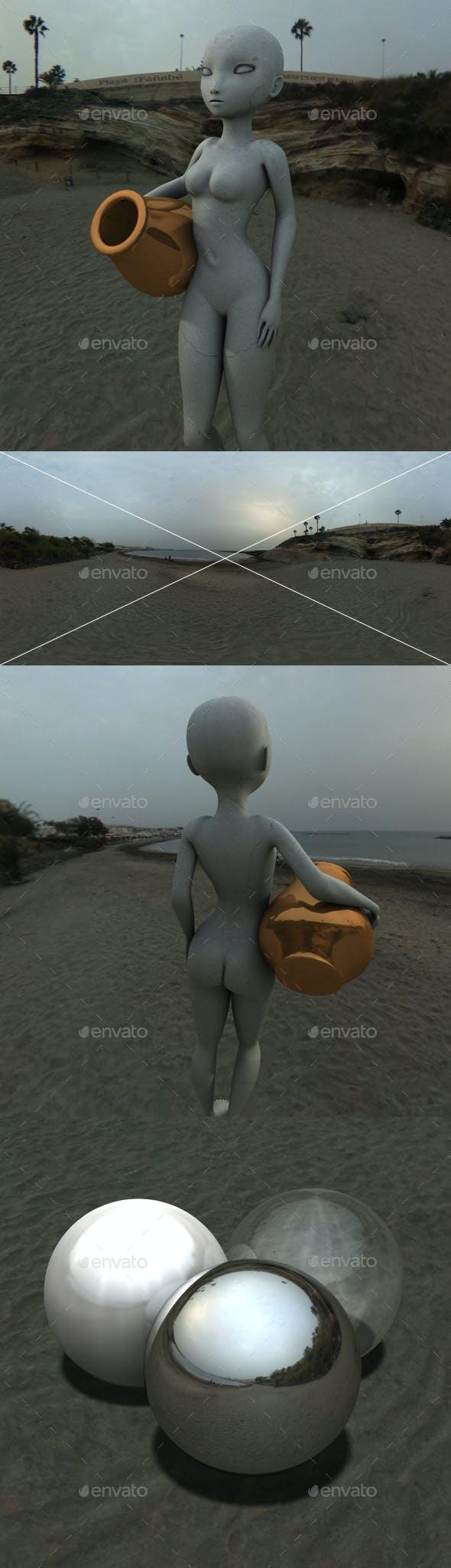 Beach Dusk HDRI - 3DOcean Item for Sale