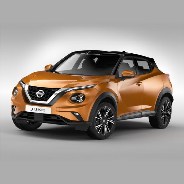 Nissan Juke (2020) - 3DOcean Item for Sale