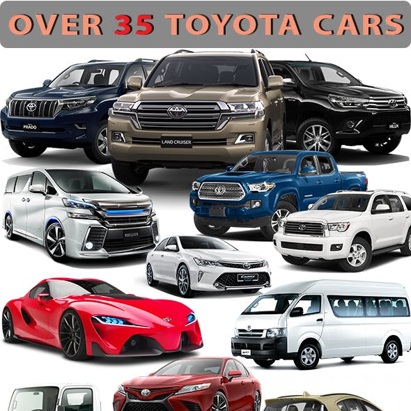 TOYOTA CARS PACK
