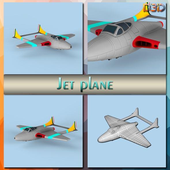 Jet plane - 3DOcean Item for Sale