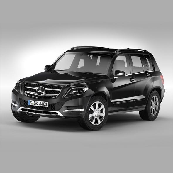 Mercedes Benz GLK Class (2012 - 2015) - 3DOcean Item for Sale