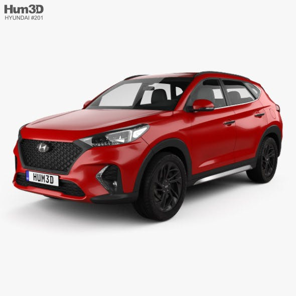 Hyundai Tucson N-line 2018 - 3DOcean Item for Sale
