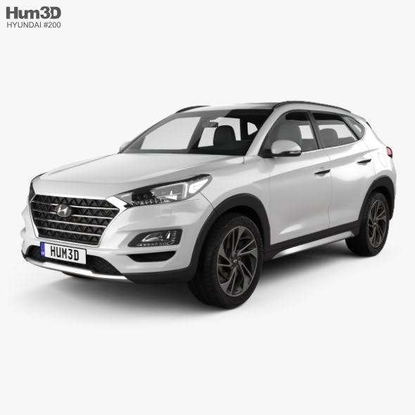 Hyundai Tucson 2018 - 3DOcean Item for Sale