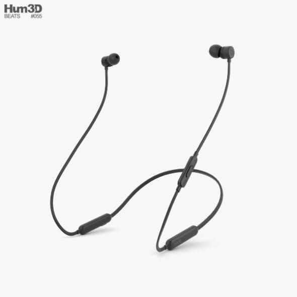 Beats BeatsX Black - 3DOcean Item for Sale
