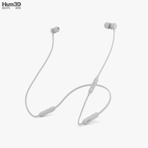 Beats BeatsX Satin Silver - 3DOcean Item for Sale