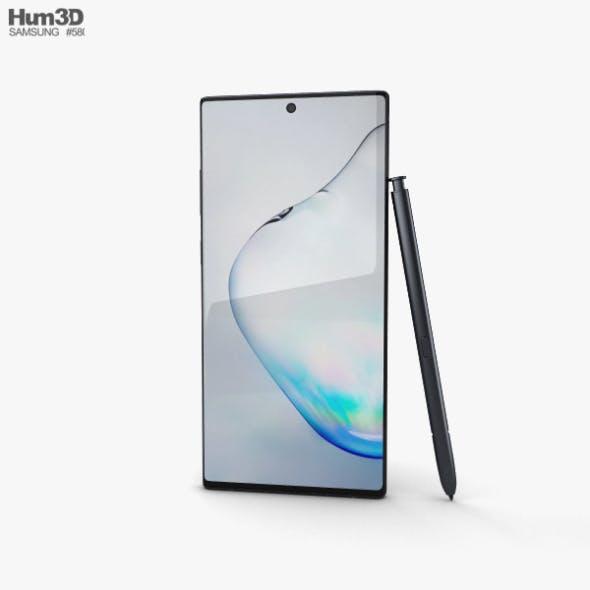 Samsung Galaxy Note 10 Aura Black - 3DOcean Item for Sale