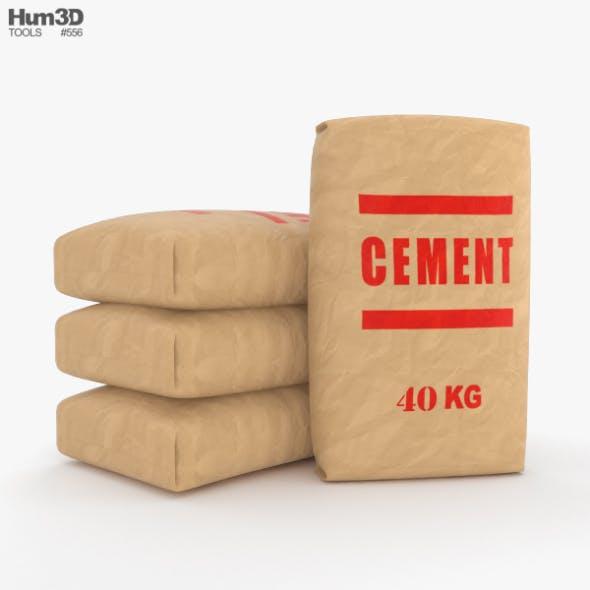 Cement Bag - 3DOcean Item for Sale