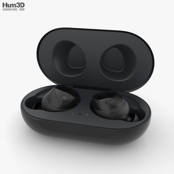 Samsung Galaxy Buds Black - 3DOcean Item for Sale