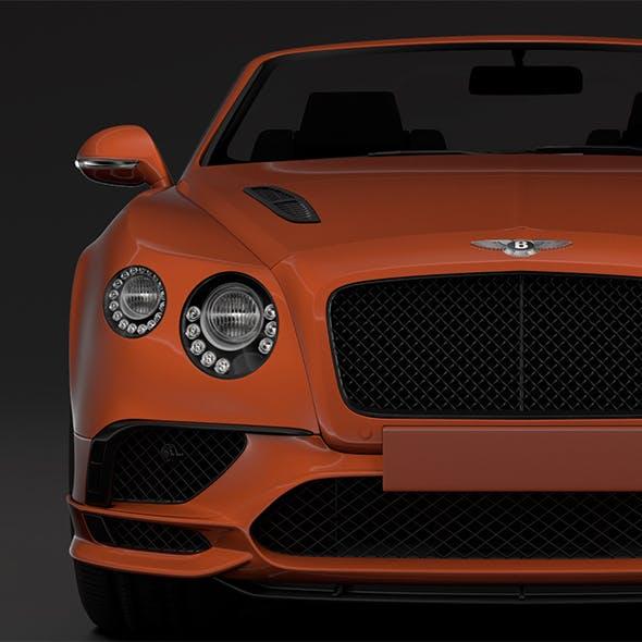 Bentley Continental Supersport Convertible 2018 - 3DOcean Item for Sale