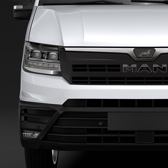 MAN TGE L4H3 Van 2018 - 3DOcean Item for Sale