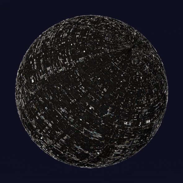 Scifi Artificial Moon Shader_008 - 3DOcean Item for Sale