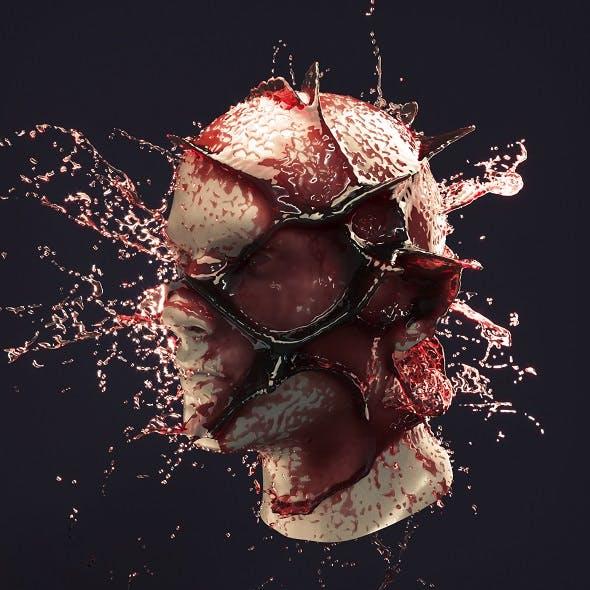 Splash Head 3 - 3DOcean Item for Sale