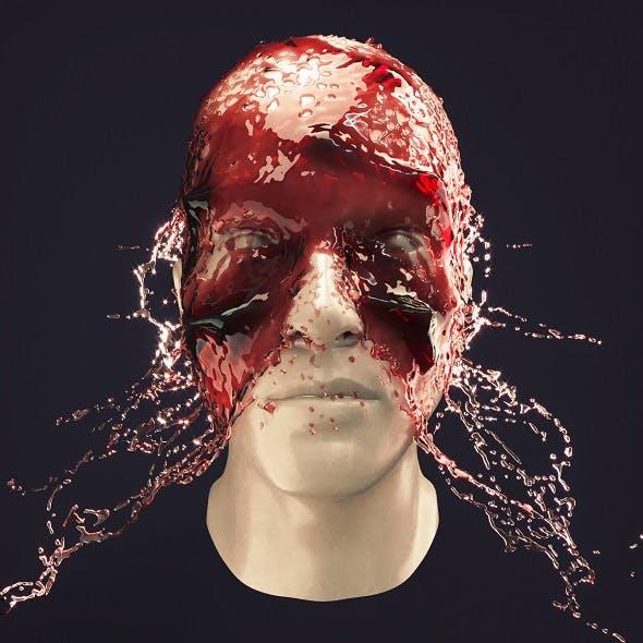 Splash Head 6 - 3DOcean Item for Sale