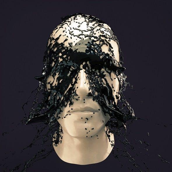 Splash Head 7 - 3DOcean Item for Sale
