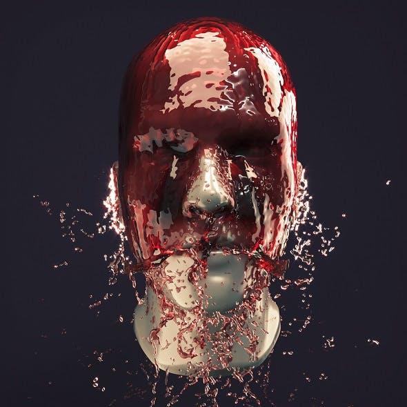 Splash Head 9 - 3DOcean Item for Sale