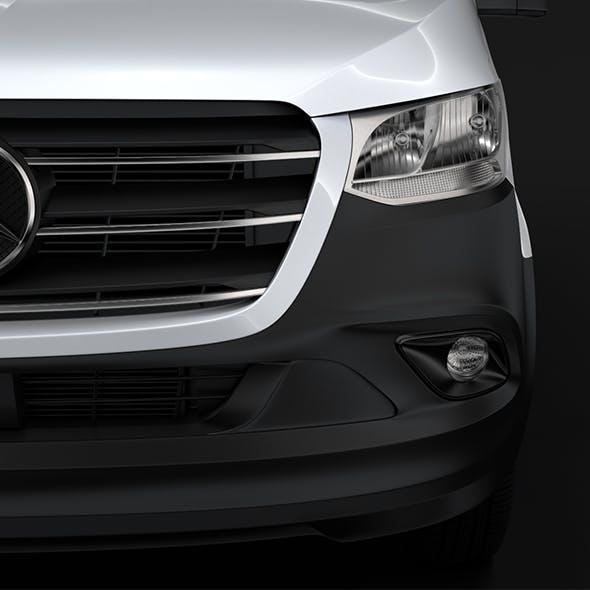 Mercedes Benz Sprinter Panel Van L1H1 FWD 2019 - 3DOcean Item for Sale