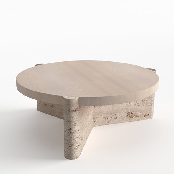 Yucca Stuff Concho Table - 3DOcean Item for Sale