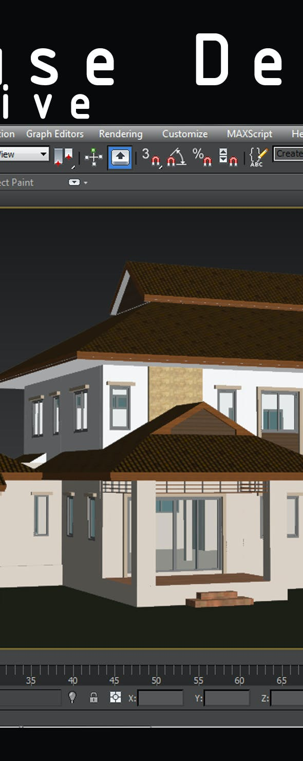 3DHouse  - 3DOcean Item for Sale