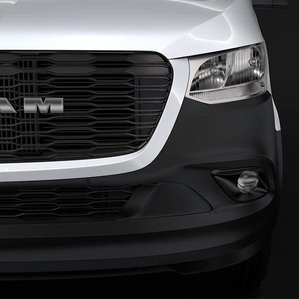 RAM Sprinter Panel Van L1H1 FWD 2019 - 3DOcean Item for Sale