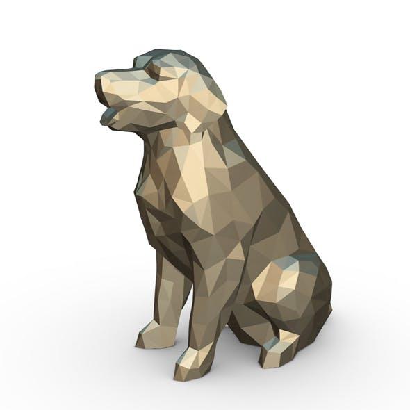 Golden Retriever figure - 3DOcean Item for Sale