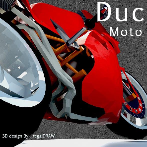 Duc Moto_3D Modeling