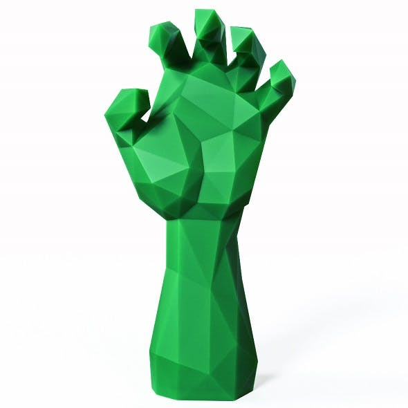 Hand Zombie Low Poly - 3DOcean Item for Sale