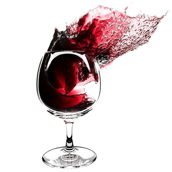 Splash Wineglass 4 - 3DOcean Item for Sale