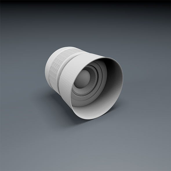 Low Poly Camera lens - 3DOcean Item for Sale
