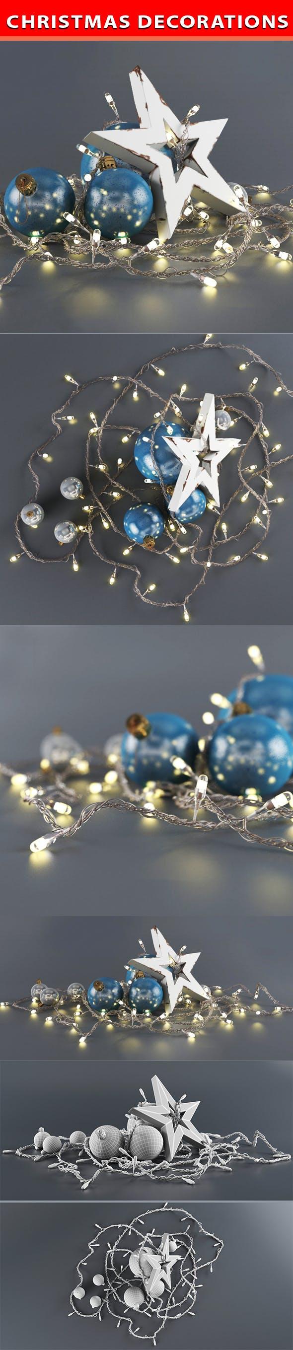 Christmas set - 3DOcean Item for Sale
