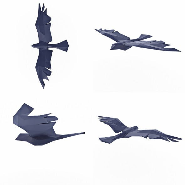 Bird Low Poly - 3DOcean Item for Sale