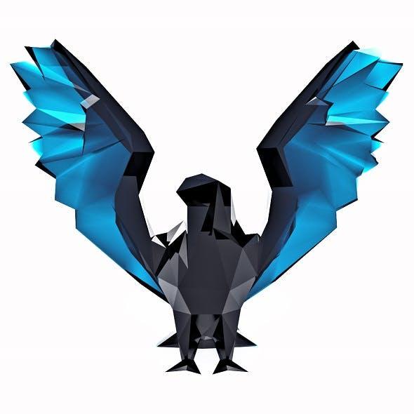 Hawk Low Poly