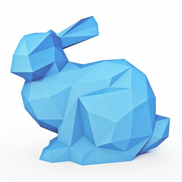 Bunny Low Poly 2 - 3DOcean Item for Sale