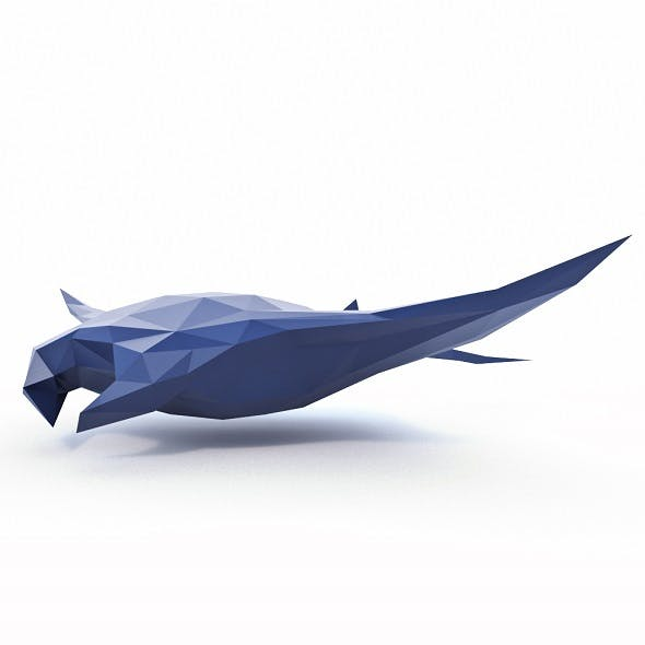 Ramp Fish Low Poly - 3DOcean Item for Sale