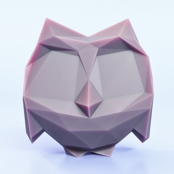 Owlet Low Poly - 3DOcean Item for Sale