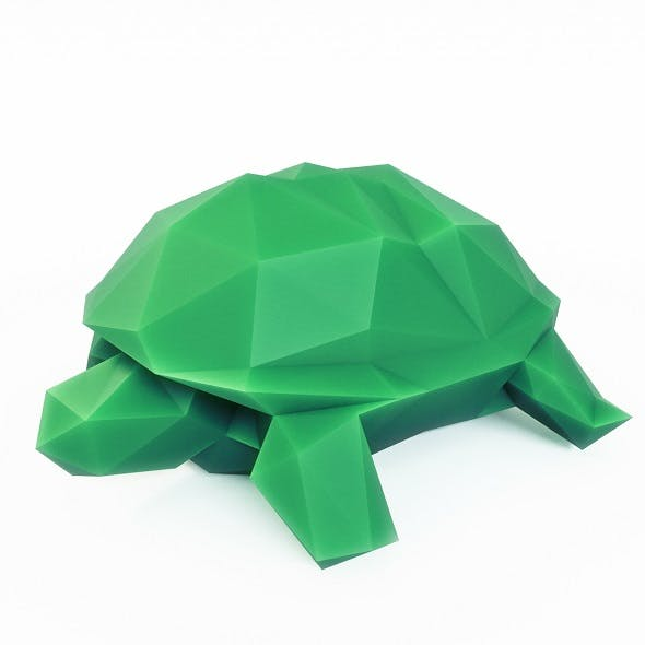 Turtle Low Poly