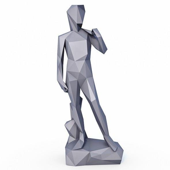 David Statue Low Poly v2