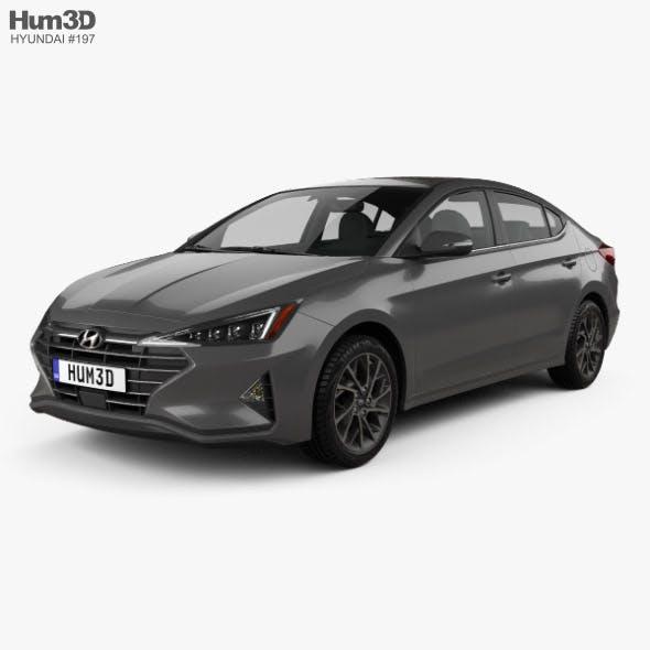 Hyundai Elantra Limited 2019 - 3DOcean Item for Sale