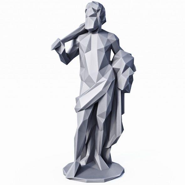 Hercules Low Poly - 3DOcean Item for Sale