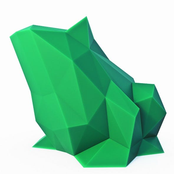 Toad Low Poly - 3DOcean Item for Sale