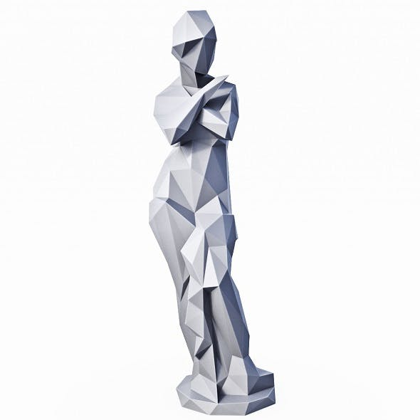 Louvre Psyche Low Poly - 3DOcean Item for Sale