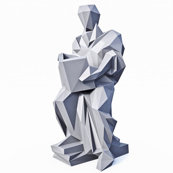 Socrates Low Poly