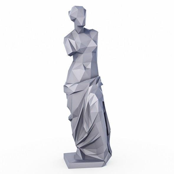 Venus de Milo Low Poly - 3DOcean Item for Sale